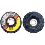 "4.5"" Type 27 Zirconia Abrasive Flap Disc w/ 40 Grit"