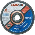 "4-1/2"" Quickie Cut Type 27 Extra Thin Cut-Off Wheel w/ 60 Grit"