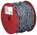 Straight Link Coil Steel Chains