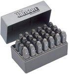 1/8 Inch Standard Steel A-Z Handheld Stamp Set
