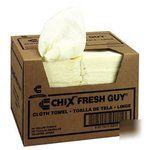 Yellow, Fresh Guy Towels-13.50 x 13.50