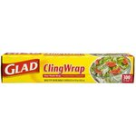 Glad Plastic Cling Wrap, 12 in x 300 ft