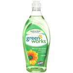 12 Count Green Works Natural Liquid Dish Washing Soap-22-oz