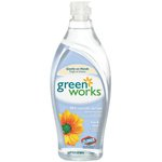 Clorox Green Works Natural Dishwashing Liquid Free & Clear-22-oz