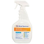 Broad Spectrum Quaternary Disinfectant Cleaner, 32 oz Spray Bottle