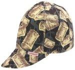 Deep Round Crown Cap, Size 7-1/8