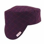 Style 3000 Black Quilted Cotton Shop Cap