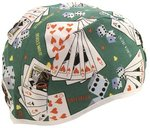 Large Assorted Print Comeaux Skull Cap