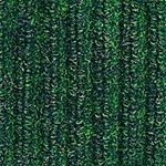 Needle-Rib Wiper/Scraper Mat, Polypropylene, 36-in x 60-in, Green/Black