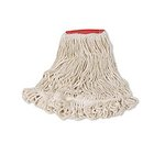 White, Large Cotton/Synthetic Super Stitch Blend Mop Heads