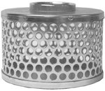 "3"" Steel Threaded Round Hole Strainer"