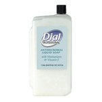 Liquid Dial Antimicrobial with Moisturizers and Vitamin E- 1-Liter Refill
