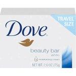 White, Travel Size Bar Soap with Moisturizing Lotion-2.6-oz