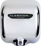 Automatic Xlerator Eco Hand Dryer, Chrome Cover, 120 V