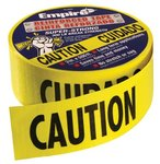 Yellow Caution 500 ft Safety Barricade Tape