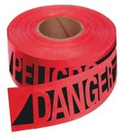 500ft Red Danger Safety Barricade Tapes