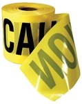 "3""X200' Caution Yellow Safety Barricade Tapes"