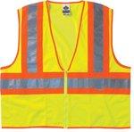 GloWear 8210Z Class 2 Mesh Lime Economy Vest