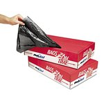 Linear Low-Density Can Liner, 60-Gallon Black