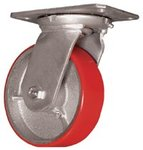 "5"" Polyurethane Medium Heavy Duty Casters"