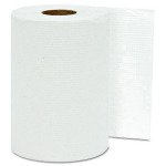 White, 1-Ply Hardwound Roll Towels-8-in x 800-ft.