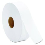 White, 2 Ply JRT Jumbo Bath Tissue- 12-in Diameter