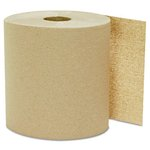 Kraft, Hardwound Roll Towels- 8 Inches x 800 Feet