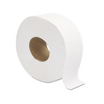 White, 2-Ply Jumbo JRT Bath Tissue- 9-in Diameter