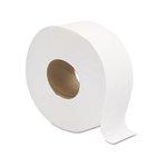 White, 2-Ply Jumbo JRT Bath Tissue- 9-in Diameter
