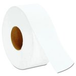 White, 2-Ply Jumbo Bathroom Tissue-9-in Diameter