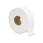 White, 2-Ply Jumbo Bath Tissue-9-in Diameter