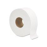 White, 2-Ply Jumbo Bath Tissue-9-in Diameter