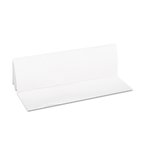 White, 1-Ply Multi-Fold Paper Towels-9.2 x 9.4