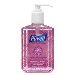 Pink, Spring Bloom Instant Hand Sanitizer Pump Bottle-8-oz