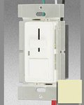 600W Ivory 3 Way Slide Dimmer W/Push Switch