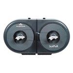 SofPull Mini Coreless Centerpull Twin Bath Tissue Dispenser
