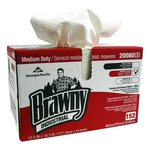 White, Premium Paper DRC Wipes-12.5 x 16.75