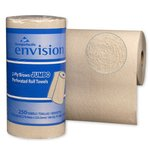 Brown, Perforated Paper Towels-11 x 8.87