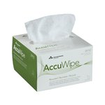 White, 280 Count 1-Ply Recycled Delicate Task Wipers-4.5 x 8.25