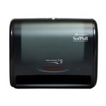 Translucent Smoke, Automatic Towel Dispenser-12.8 x 6.6 x 10.5