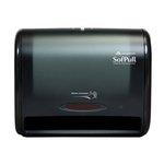 Translucent Smoke, Automatic Towel Dispenser-12.8 x 6.6 x 10.5