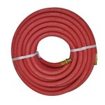 "Red 3/8"" x 50' Horizon Coupled Hose"