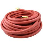 "3/8""x 25 ft MxM 300 PSI Red Horizon Hose"