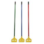 Blue and Yellow, Invader Fiberglass Side-Gate Wet-Mop Handle-60-in