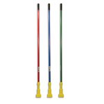 Red And Yellow, Gripper Fiberglass Mop Handle-60-in