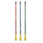 Blue And Yellow, Gripper Fiberglass Mop Handle-60-in