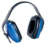 Blue 27 dB Viking Over The Head Earmuffs