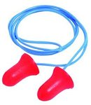 Pre-Shaped Corded Foam Earplugs