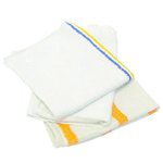 White Value Choice Counter Cloth/Bar Mop-25 Pound Bag