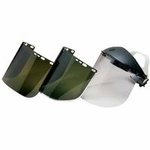 Clear Unbound F30 Acetate Face Shields